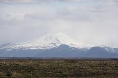 prairie, steppe, cloud, mountain, tundra, plain, mountain range, hill, summit, geology, ridge, fell, wilderness, stratovolcano, mountainous landforms,