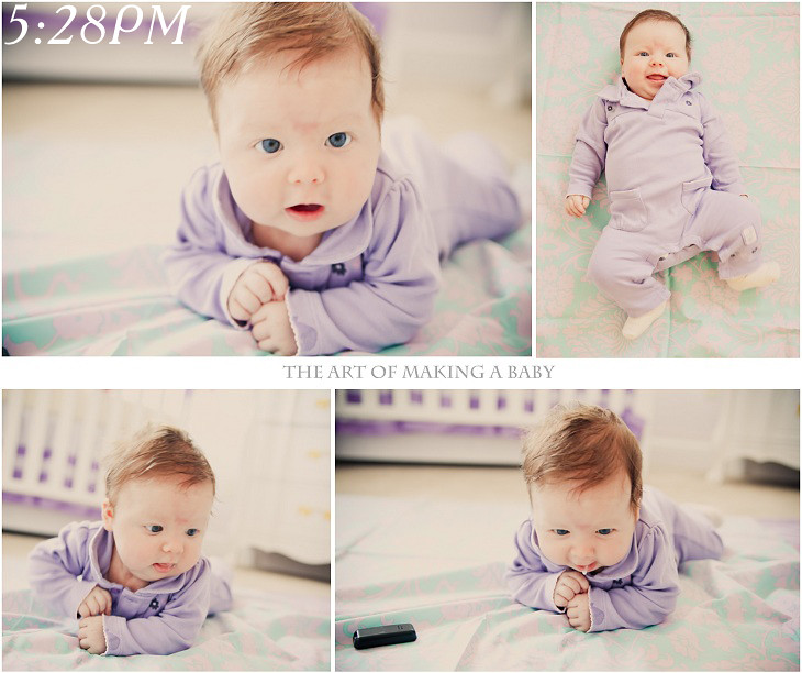 A Day In Life Of Lexi: 2.5 Months Edition {in Photos}