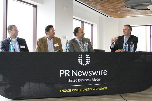 Panelists of the PRNBDI Content Marketing and Leadership Forum in SF 5-16-12