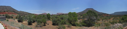 Sedona Rocks Panorama