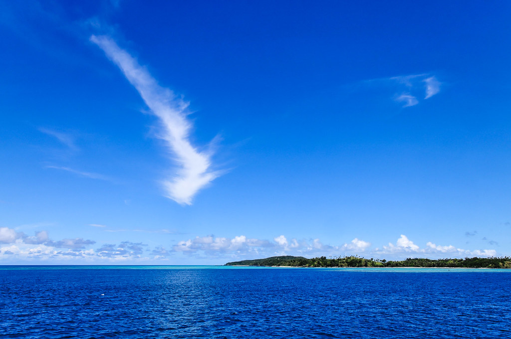 Nanuya Levu Island Fiji Map