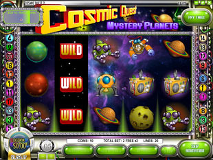 Cosmic Quest Episode Two Bonus Game