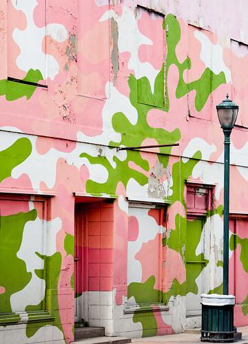 mural caribbean bahamas nassau camoflauge thebahamas