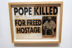 Brooklyn - Brooklyn Museum: Keith Haring: 1978–1982 - Pope Killed for Freed Hostage