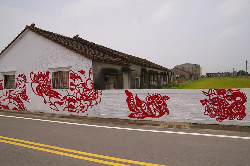北溪里彩繪社區之美