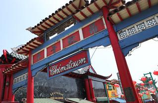 Image of Chinatown Gateway. california losangeles chinatown chinese entrance gateway