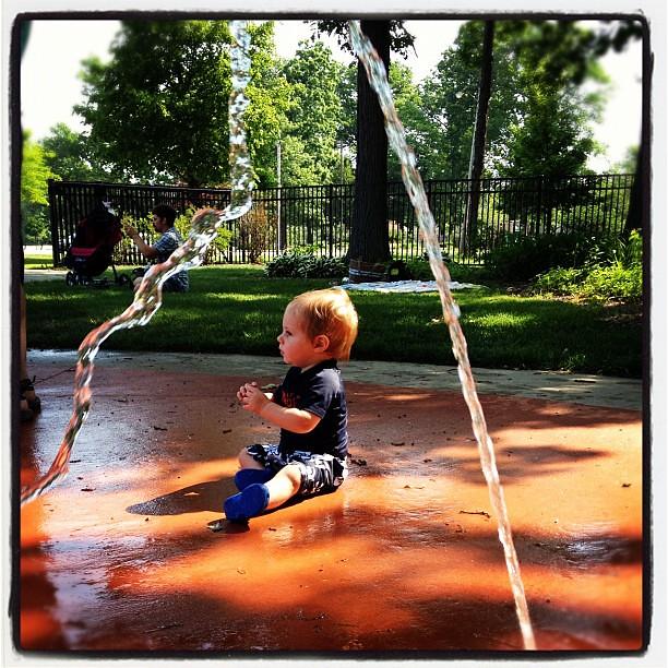 Splash park!!!