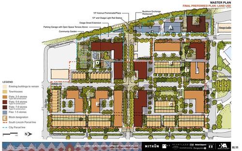 redevelopment site plan (courtesy of Mithun)