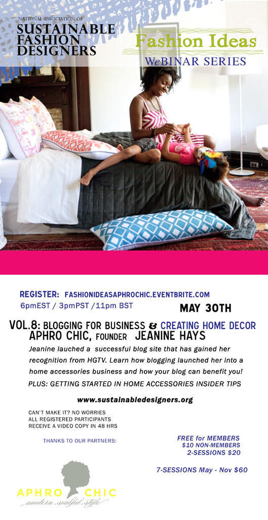 Jeanine Hays Of Aphrochic To Speak On Sustainable Fashion Designers Webinar Aphrochic Modern Soulful Style