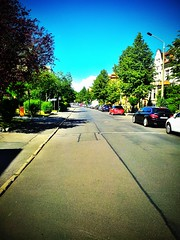 A peaceful street in #Eisenach.