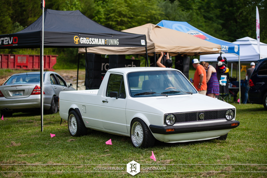 mk1 vw caddy on bbs rs at southern worthersee 2012