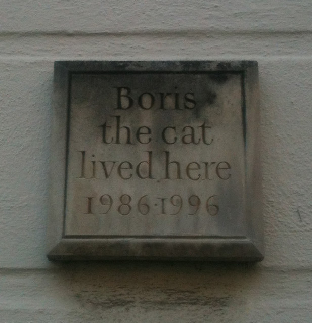 Photo of Boris stone plaque