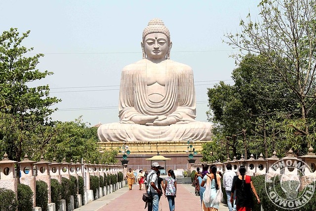 My First Impression of Bodhgaya