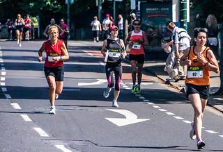 Flora Women's Mini Marathon In Dublin (2012) - Winner Was Linda Byrne