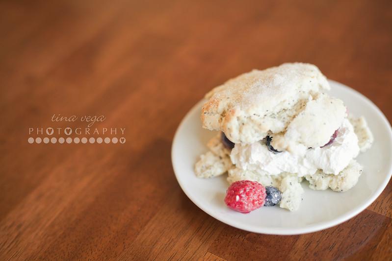 cherry-berry shortcake