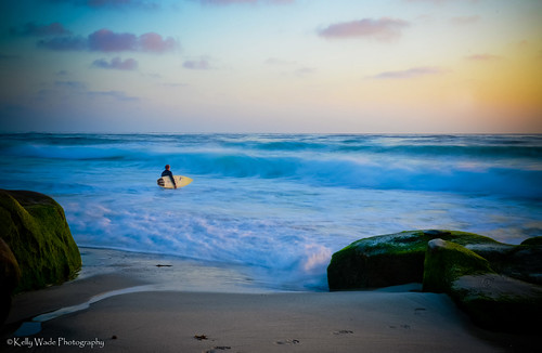 Sunset Surf by nikonkell Kelly Wade Photography