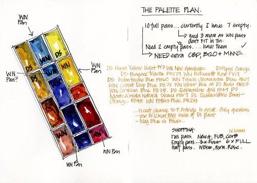 120605 Trip Prep- The palette plan by borromini bear