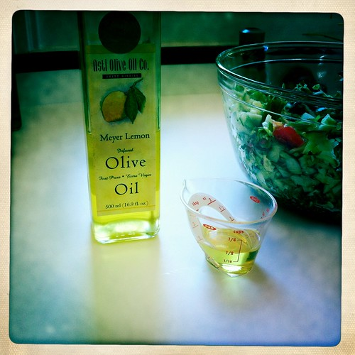 A little enhancement - Meyer Lemon Olive Oil