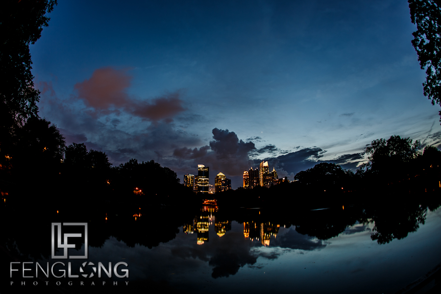 Sunset at Piedmont Park | Atlanta Commercial Time-Lapse Photographer