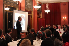 Anders Rockström held a presentation during the lunch which followed the meeting