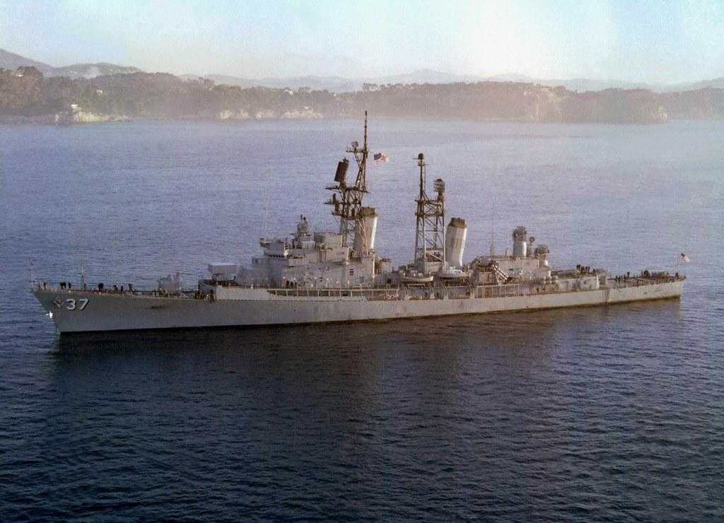 USS Farragut (DDG-37) Toulon 1979