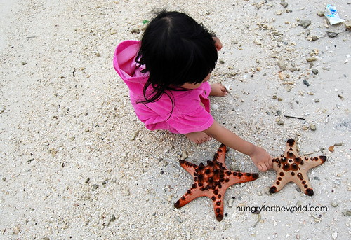 euna with the starfish
