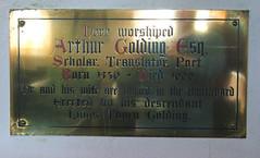Arthur Golding Esq, scholar, translator, poet