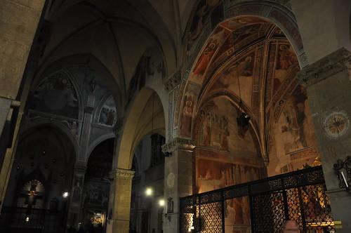 Frescoes in Santa Trinita in Florence