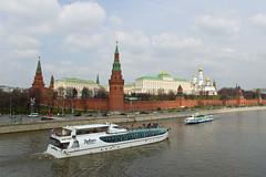 Le Kremlin vu depuis le Pont Bolshoy Kamenny