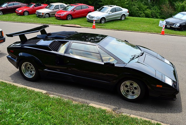 1989 lamborghini countach 25th anniversary black flickr photo sharing. Black Bedroom Furniture Sets. Home Design Ideas