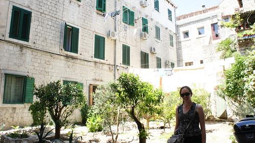 Garden, Diocletian's Palace, Split, Croatia