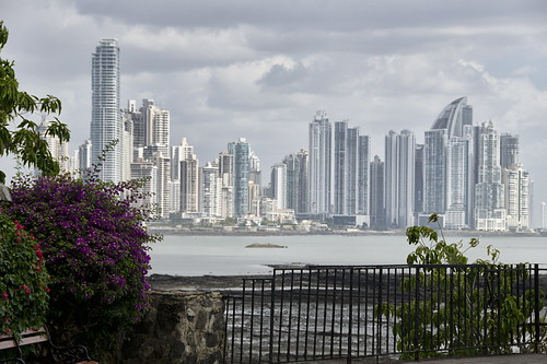 Panama City from Casco Viejo