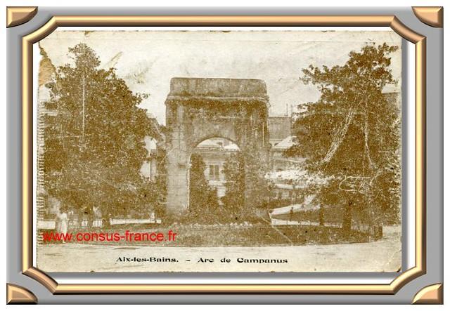 AIX - les - BAINS - Arc de Campanus -70-150