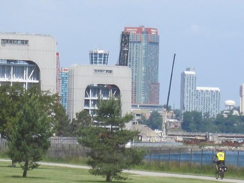 Approaching Niagara Falls