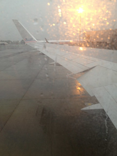 Leaving JFK -  AA0236 JFK - FCO