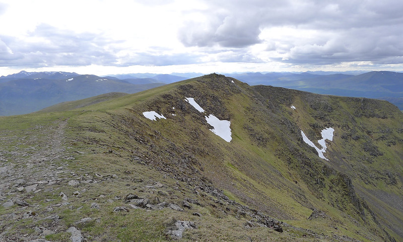 Summit of Beinn Eibhinn