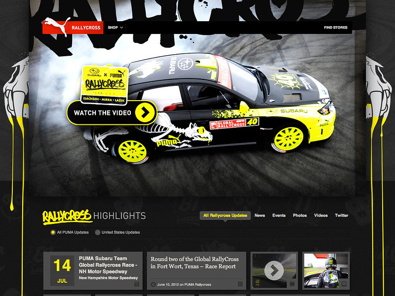 PUMA Global Rallycross