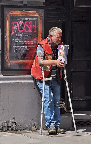 Big Issue Goes Posh