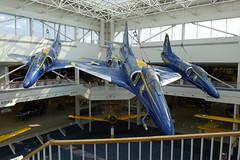 Douglas A-4E Skyhawk der Blue Angels
