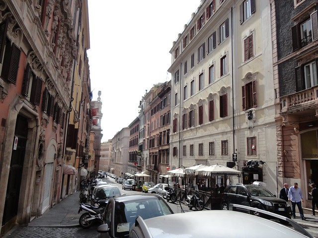 Little streets in Rome