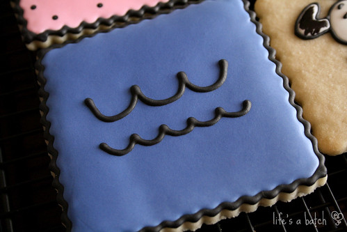 Lucy's dress cookie.