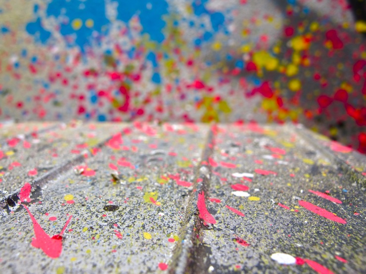 Splatter detail