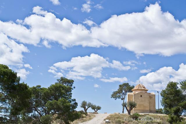 Ermita San Juan y nubes 2