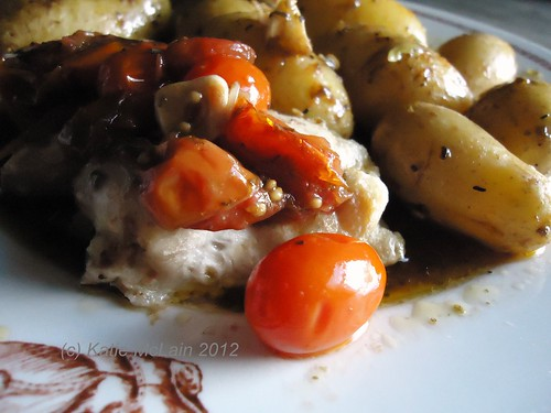 Chicken with Lemon Potatoes