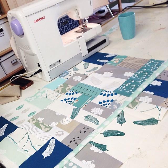 Freeform Patchwork happening @handmakersfactory