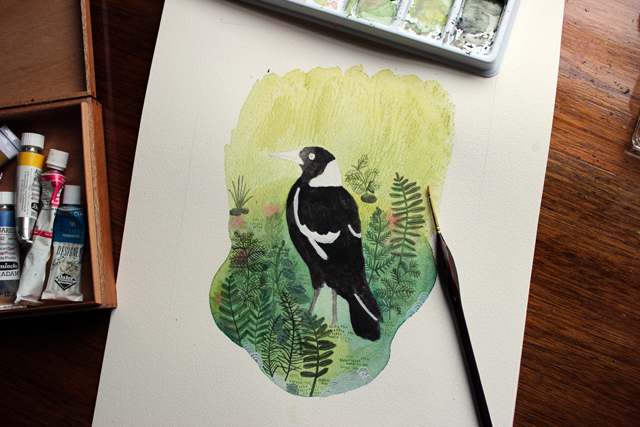 Magpie, Work in Progress