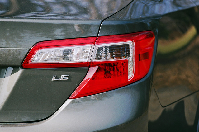 Camry tail light