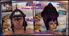Sultan Helmet Headdress Arabian Nights 2