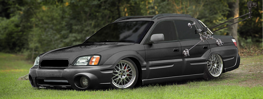 Wheelandtorque 39 s 05 subaru baja turbo the camera show car build thread nasioc