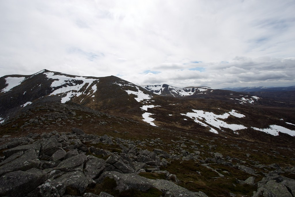 White Mounth from Meall Coire na Saobhaidhe